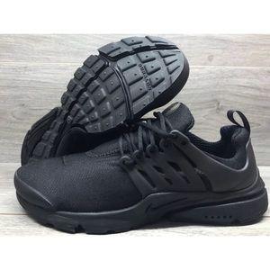 Nike Air Presto Essential Black Mesh Running Shoes